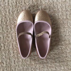 Native Glitter Margot Mary Janes! EUC!